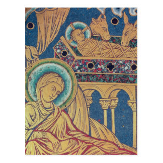 The Nativity, panel from the The Verduner Postcard