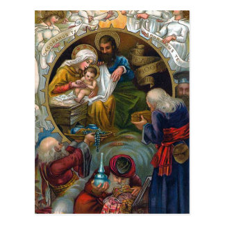 """The Nativity"" Postcard"
