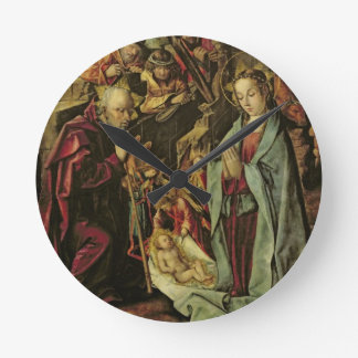 The Nativity Round Clock