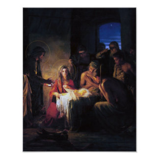 The Nativity Scene. Poster