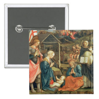 The Nativity with SS. Michael and Dominic, 1470 (t Buttons