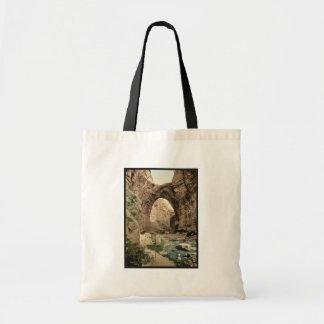 The natural arch, Constantine, Algeria classic Pho Budget Tote Bag