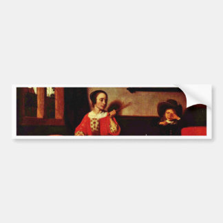The Naughty Drummer By Maes Nicolaes (Best Quality Bumper Stickers