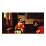 The Naughty Drummer By Maes Nicolaes (Best Quality Photo Greeting Card
