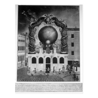 The Nautical Debt of 1782 Postcard