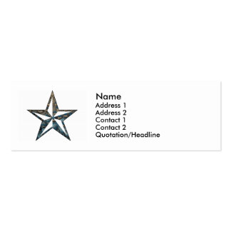 the Nautical Star Business Cards