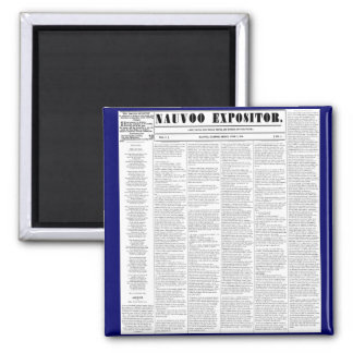 The Nauvoo Expositor Magnet