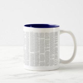 The Nauvoo Expositor Two-Tone Coffee Mug