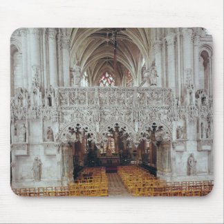 The Nave and Interior of Eglise Mousepad