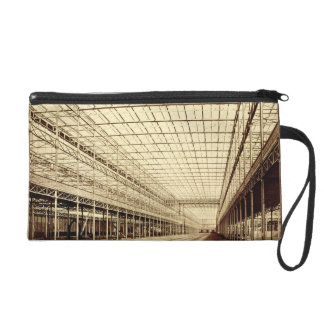 The Nave at Crystal Palace Hyde Park March 1852 Wristlet Clutches