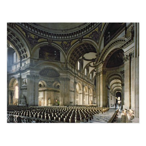 The Nave of St. Paul's Cathedral (photo) Post Cards