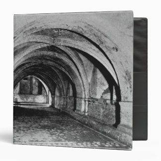 The Nave of the Crypt 3 Ring Binder
