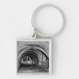 The Nave of the Crypt Keychain