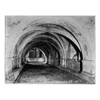 The Nave of the Crypt Postcard