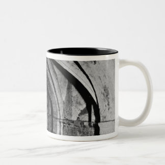 The Nave of the Crypt Two-Tone Coffee Mug