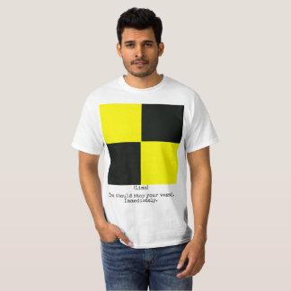The Navy Flags Shirt (Lima), Man