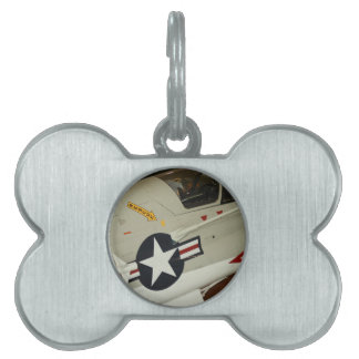 The Navy Pet Name Tag