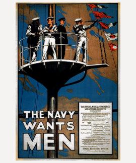 The Navy Wants Men Tshirt