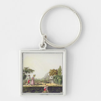 The Ne Plus Ultra of Bores, from 'Airy Nothings, o Silver-Colored Square Keychain