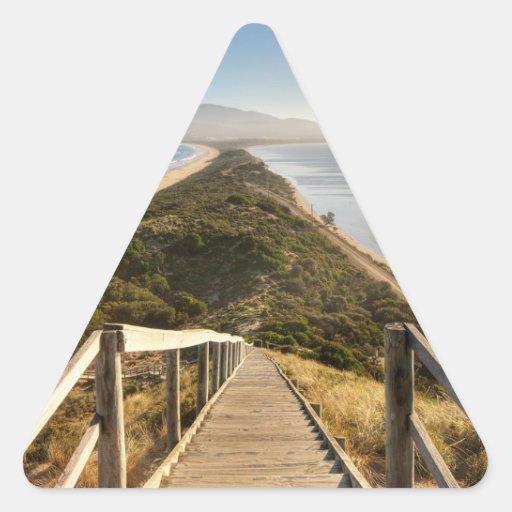 The Neck Bruny Island Triangle Sticker
