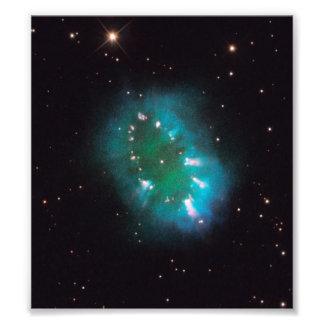 The Necklace Nebula Hubble Telescope Art Photo