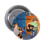 The Neckties Guitarists Button