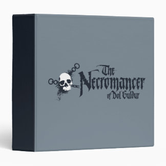 The Necromancer Name 3 Ring Binder