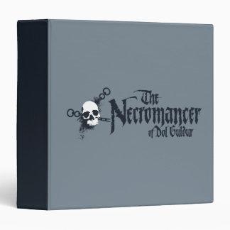 The Necromancer Name 3 Ring Binder