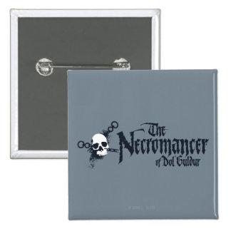 The Necromancer Name Pinback Button