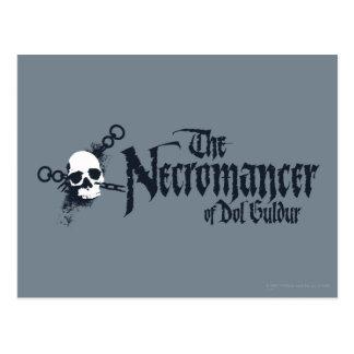 The Necromancer Name Postcard