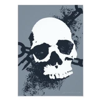 The Necromancer Skull Symbol Card