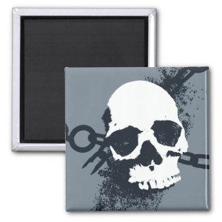 The Necromancer Skull Symbol Fridge Magnet