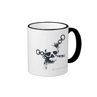 The Necromancer Skull Symbol Ringer Mug