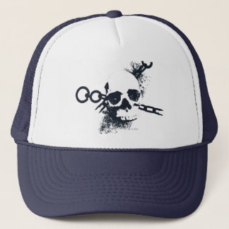 The Necromancer Skull Symbol Trucker Hat