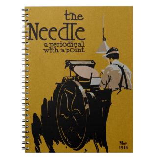 The Needle periodical illustration Notebook