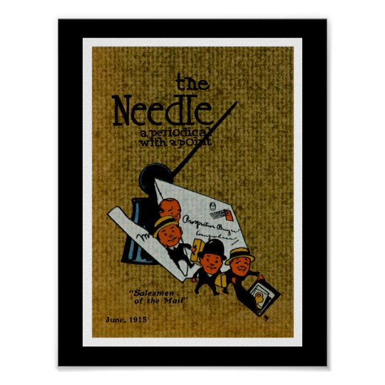 The Needle periodical illustration Poster
