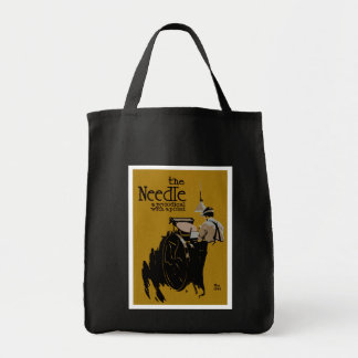 The Needle periodical illustration Tote Bag