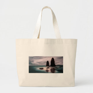 The Needles at Oregon Coast Large Tote Bag