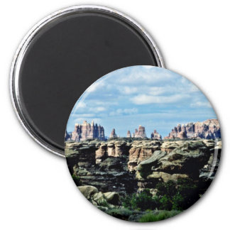 The Needles - Canyonlands National Park 2 Inch Round Magnet