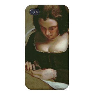 The Needlewoman, c.1640-50 Covers For iPhone 4