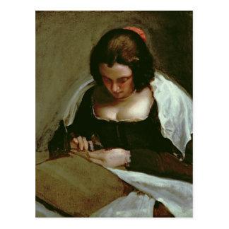 The Needlewoman, c.1640-50 Postcard
