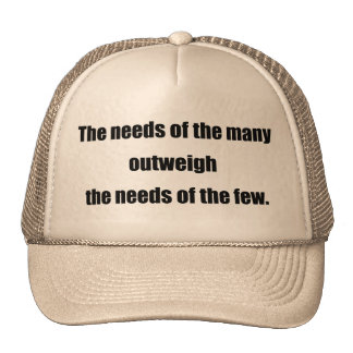 The Needs of the Many black Hats