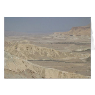 The Negev  Greeting Card