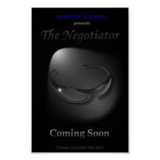 The Negotiator Movie Poster (Coming Soon)