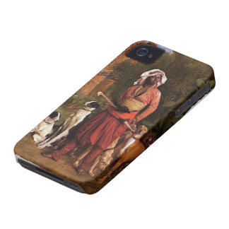 The Negro Master of the Hounds by Jean-Leon Gerome iPhone 4 Case-Mate Case