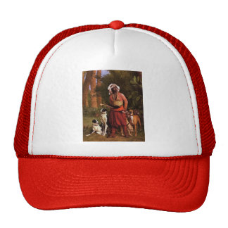 The Negro Master of the Hounds by Jean-Leon Gerome Trucker Hats