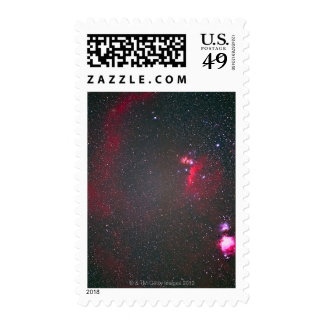 The Neighborhood of Orion Center Stamp