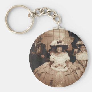 The Nelsons Basic Round Button Keychain