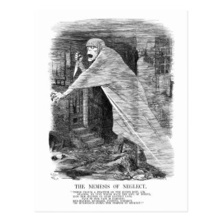 The Nemesis of Neglect - Jack the Ripper Postcard
