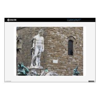 The Neptune fountain and Palazzo Vecchio Laptop Skin